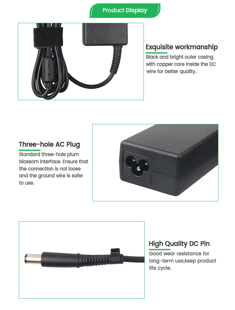 Replacement 90W Laptop Adapter Power Supply 19V 4.74A