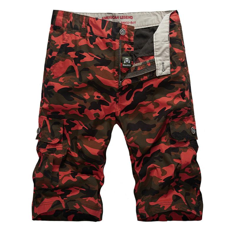 New 2014 Summer Shorts Men Camouflage Outdoor Cargo Mens Shorts Casual Sport Surf/Beach Bermuda Masculina Army Military,Size 44