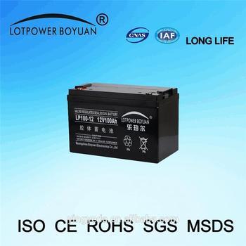 Deep Cycle Solar Battery Gel Interstate Battery 12v 100ah Battery For Ups  System - Buy Interstate Battery,12v 100ah Battery,Deep Cycle Solar Battery
