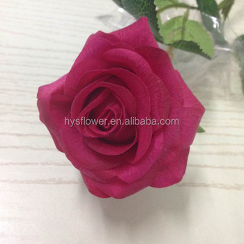 Cheap artificial real touch hot pink rosetable wedding decoration cheap artificial real touch hot pink rose table wedding decoration artificial flowers mightylinksfo