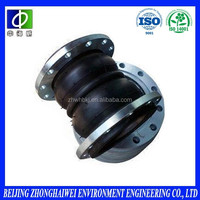 ansi/din standard union type double bellow rubber expansion joints