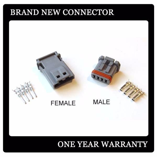 HTB1VJ4iMFXXXXaiaXXXq6xXFXXXO jae mx1900 4 pin male female gray connector for harley davidson GM Turn Signal Wiring at gsmx.co