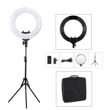 Dongguan Tolifo Photographic Lighting 18 inch Dimerable Bicolor Studio Selfie Led Video Ring Light with Stand
