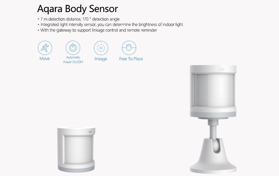 Hotsales Multi-function Gateway zigbee body sensor for XIAOMI manufacturer,  View Gateway body sensor, MI Aqara Product Details from Shenzhen Zeyue