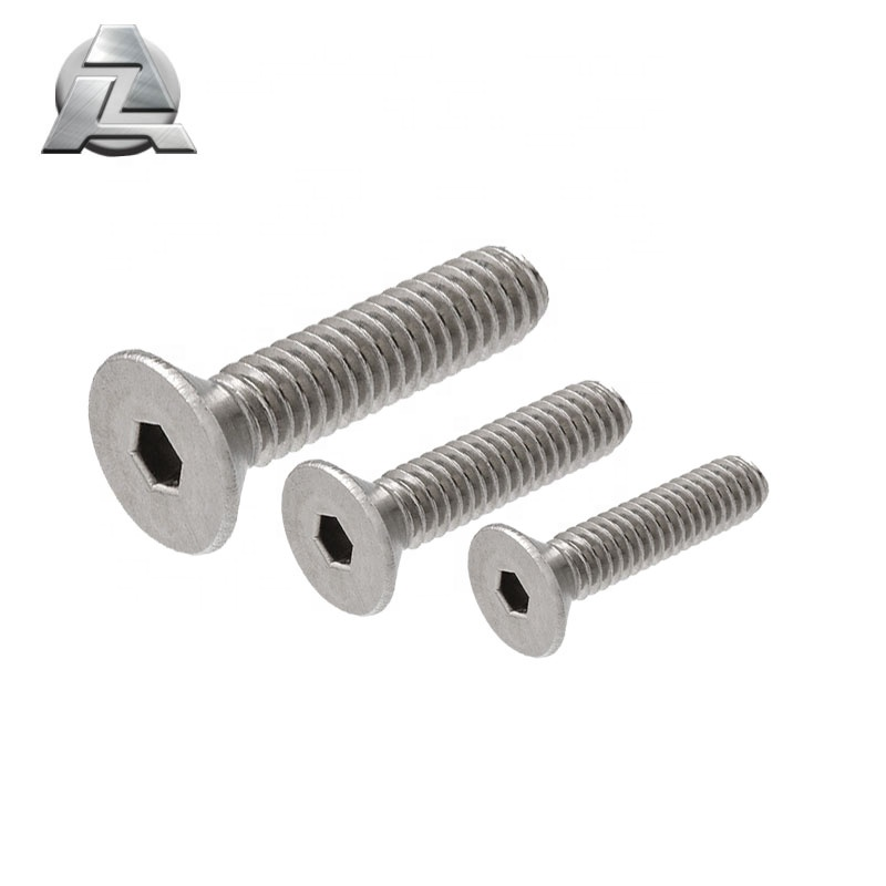 Flat Socket Head <strong>Screw</strong> M4 M5 M6 aluminum t slot extrusion accessories