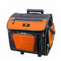 Tubular handle heavy duty Rolling tool bag