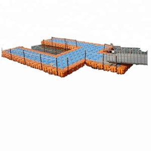 Marine plastic boat Floating Dock for sale