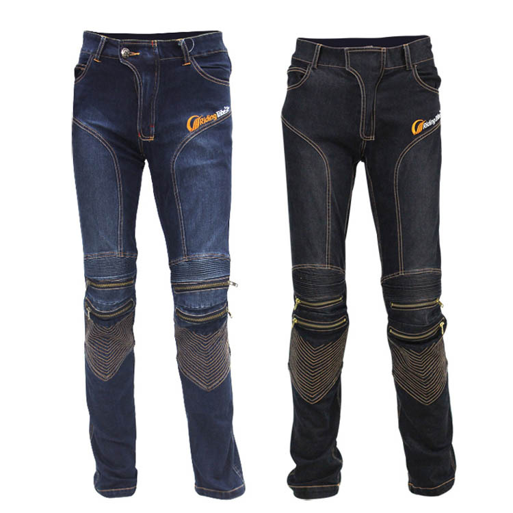 New fashion new popular! Motorcycle Pants Knee Protective Motorcyclists Denim Jeans Motorcycle Moto Racing Pants
