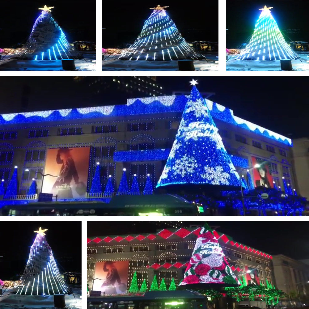 Bluetooth Programmable Led Christmas Lights With Phone App Control