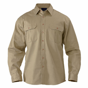 shirt work wear uniforms cotton polyester workwear/OEM working uniform shirts for mens/Women Work Shirt
