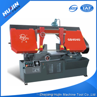 Logo Printed Dissimilarity Industrial Scissor-Type Iron Cutting Band Saw Machinery