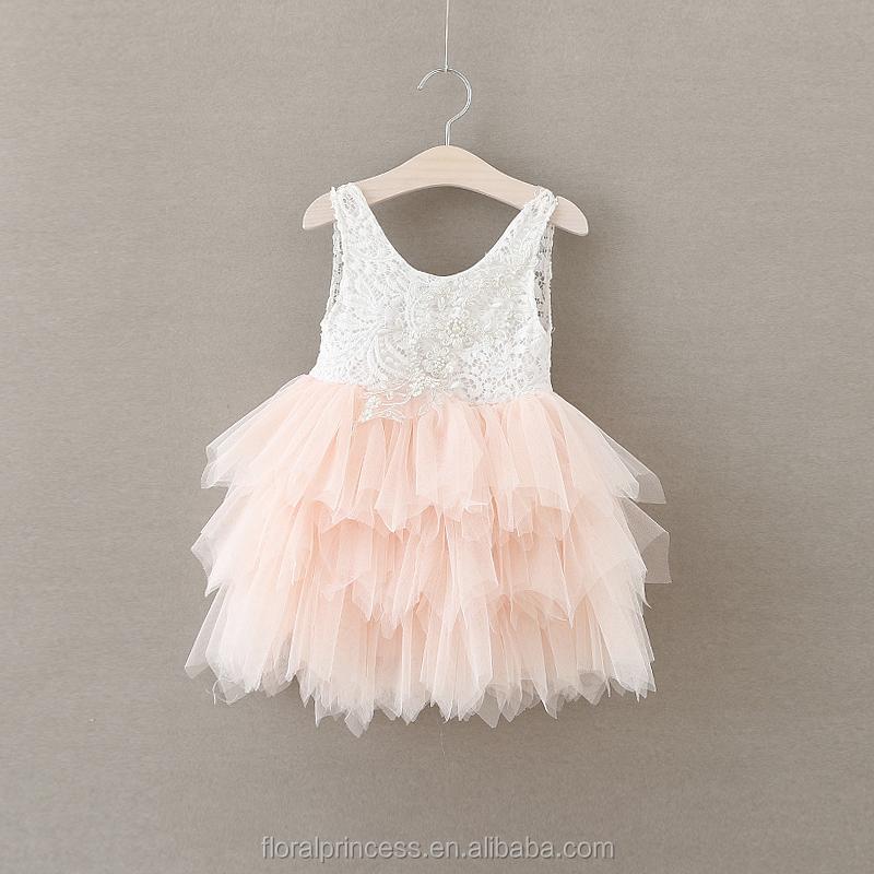 Venta al por mayor vestidos en crochet y tela bebes-Compre online ...