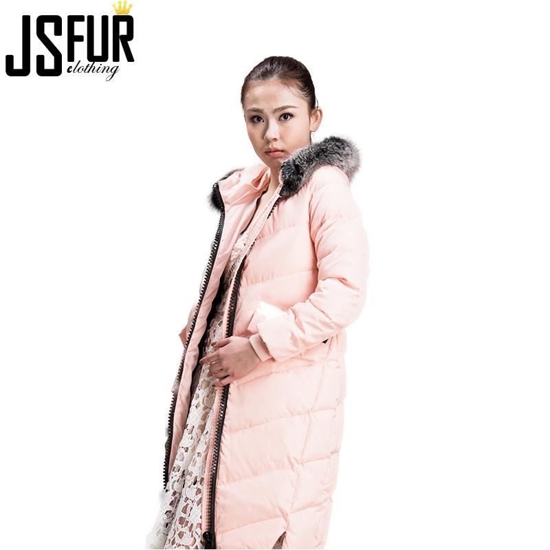 bc25990ff67 Stock d accessoires de mode Doudoune avec Fourrure Dernière Véritable Femmes  En Plein Air Hiver Doudoune avec Col ...
