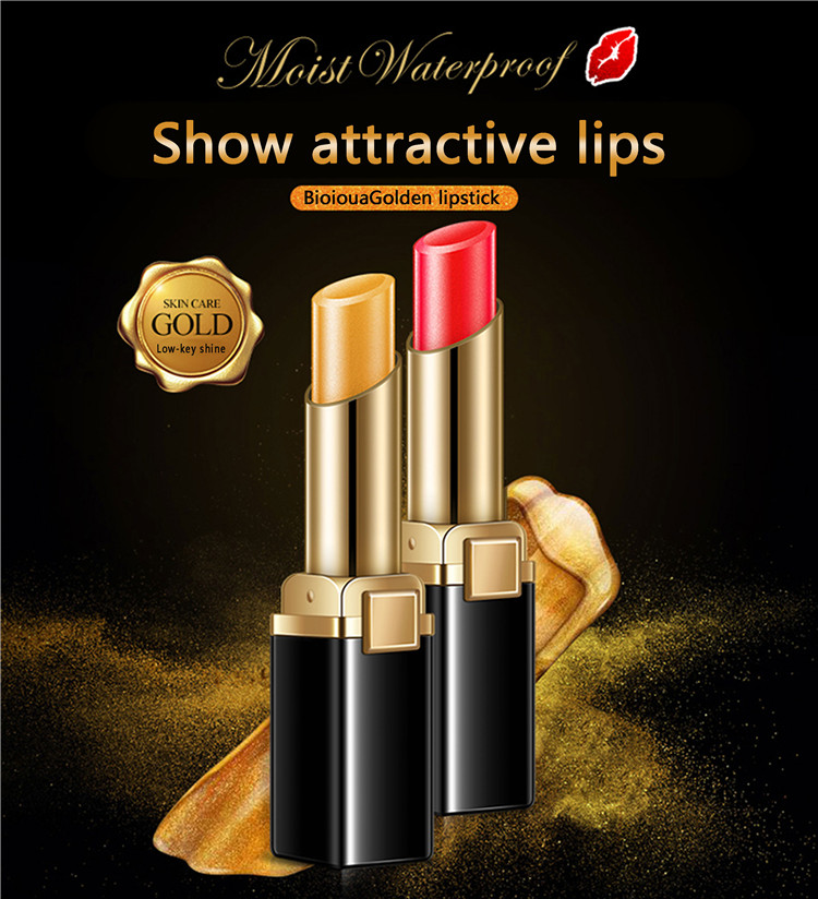 private label BIOAQUA custom attractive multiple colour lipstick for female