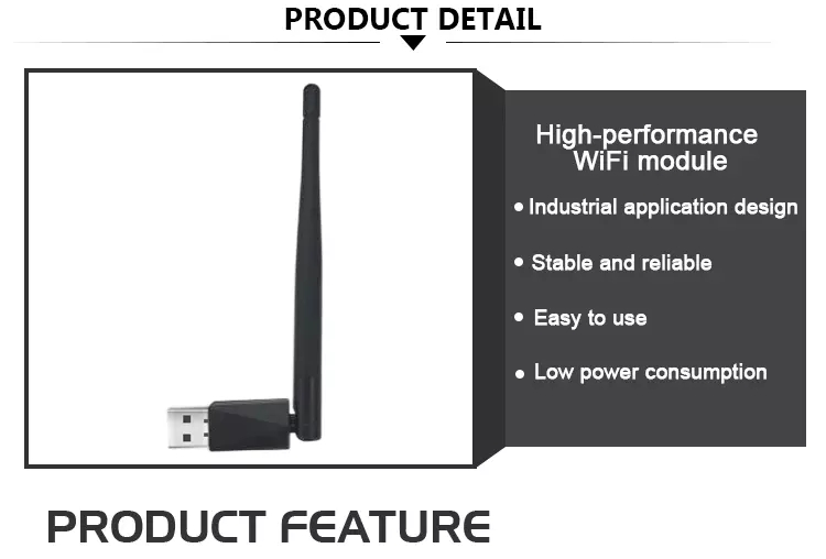 RCD USB Wifi Adapter External Antenna