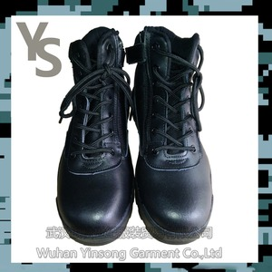 [Wuhan YinSong]Black 2016 hot sale army Military mens boots