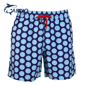 customize classic board short swimwear mens shorts for man breathable family beach wear