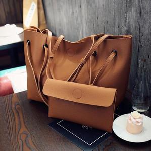 650de897d26 cy10393a Mom bag 2pcs ladies shoulder wallet ladies leather wallets woman  travel bag set