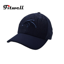 3D puff embroidery fitted baseball caps hat