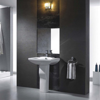 white wc two piece ceramic sanitary toilet in bathroom