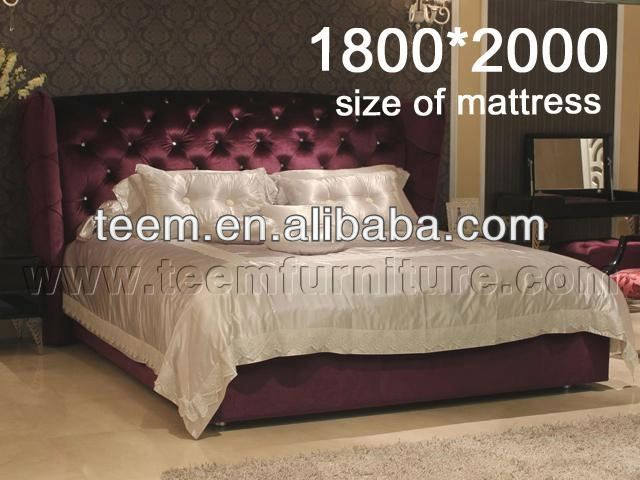 New Type Bed 2013 Hot Sale crocodile skin furniture