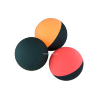 Factory Wholesale Cheap Sport Print Logo Squash Racquetball Black Style Mini Handballs Customized Rubber Bounce Ball