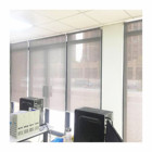 China window shades low price sunscreen/blackout shades, indoor manual horizontal roller blinds
