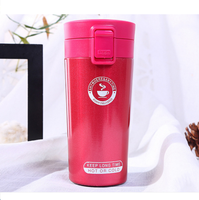 Promotion Personalise Reusable Double Wall Coffee Cup Thermos Flask Stainless Made