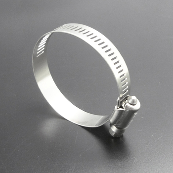Adjust range=65-89mm, Worm gear drive American type hose clamp