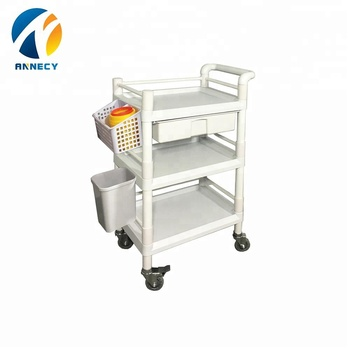 AC-UT022 4 wheel utility small hand abs utility carts trolleys