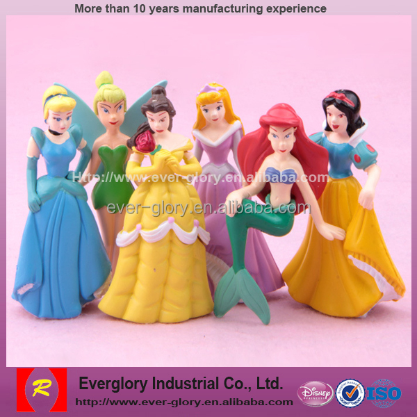 OEM Custom Plastic Lovely Toy, Funny Toy For Girls, Small Plastic Fairy Figurines