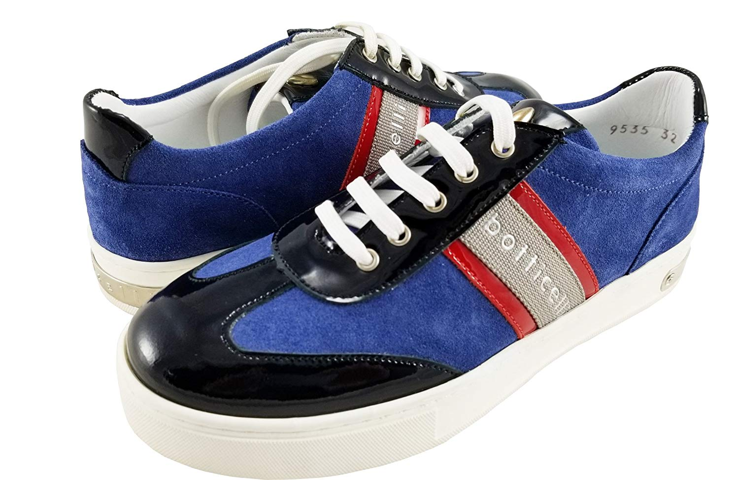BOTTICELLI LIMITED Fashion-Sneakers Womens Suede Black