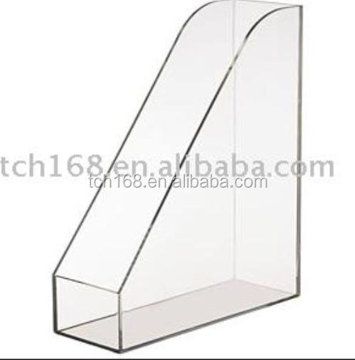 A4 Acrylic Album Box,Vertical File Holder,Plastic File Box