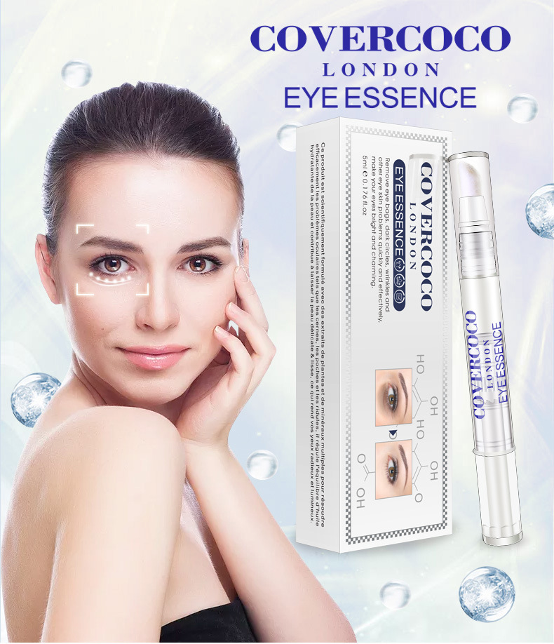 Covercoco Eyes Dark Circles Removal Reduce Fine Line Lifting Firming Anti  Aging Best Organic Hyaluronic Acid Eye Needle Serum, View needle serum,
