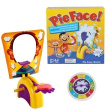 Funny The Face Quick Reaction Game Toys Pie the Face Showdown Game for 2 Kids Players