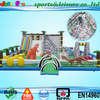 Giant Bouncy Park Inflatable Fun City for Big Inflatable kids playground