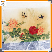 Beautiful traditional Chinese marble wall painting,Custom made Indian Miniature Painting