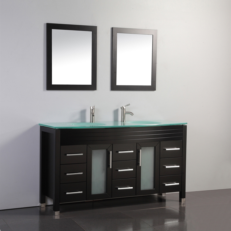 59 Double Sink Gl Countertop Lowes