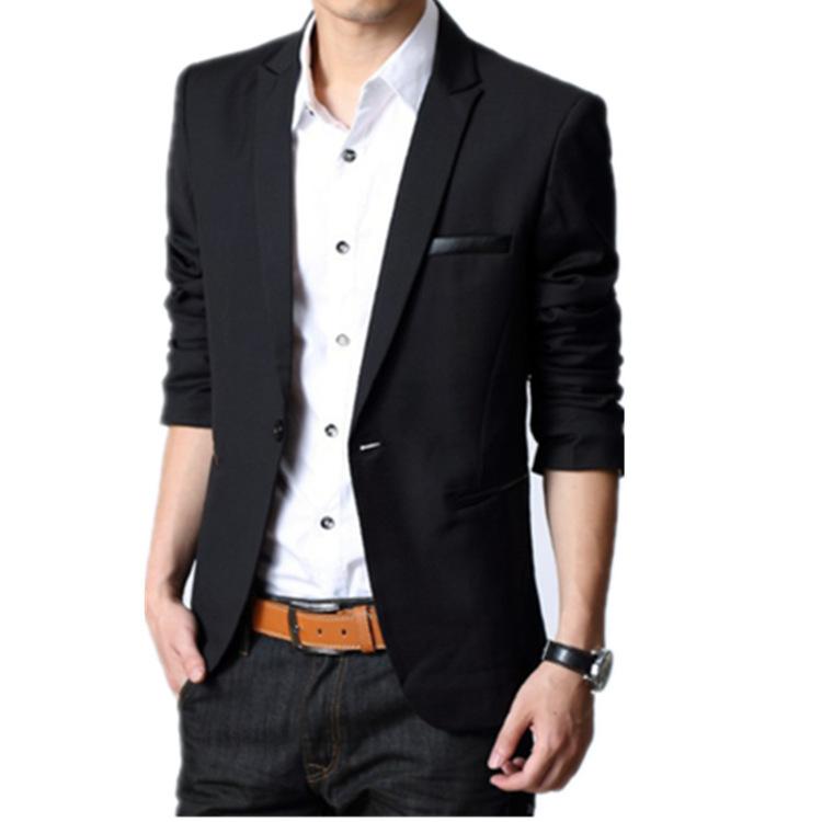 Negro Vestido De Chaqueta Para Los Hombres - Compra lotes
