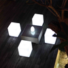 modern design led battery powered cube light led table outdoor cube seat