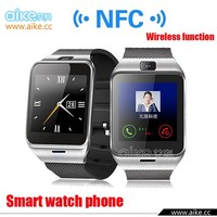 Smart bluetooth watch GV18 with NFC camera wristWatch SIM card Smartwatch for iPhone6 Samsung Android Phone watch phone
