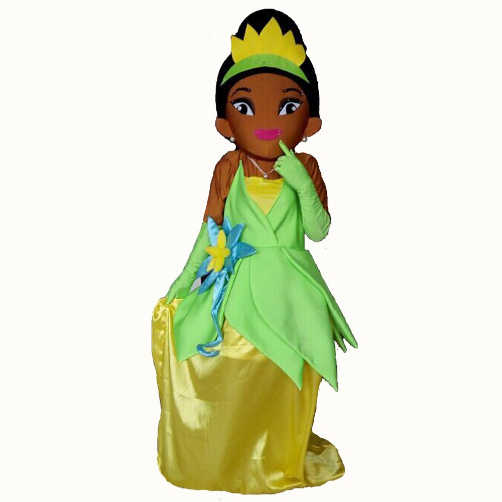 2011 Princesse Tiana Costumes De Mascotte Tiana Costume De Mascotte De Dessin Animé Buy Costume De Mascotte De Princesse Tiana Costume De Mascotte
