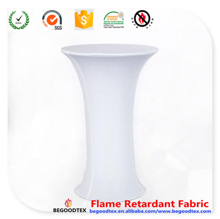 table cover inherently flame retardant fire resistant wholesale spandex fabric