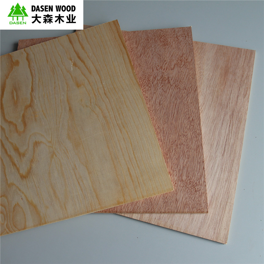 Slot Mdf Plain Wood Veneer Pvc Hpl