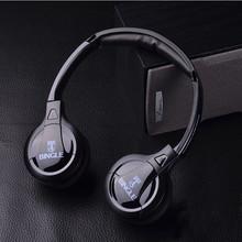 100% High quality Bingle B610W  Computer tv earphone Multifunction Wireless Headset Headphone with FM Radio for PC TV Audio