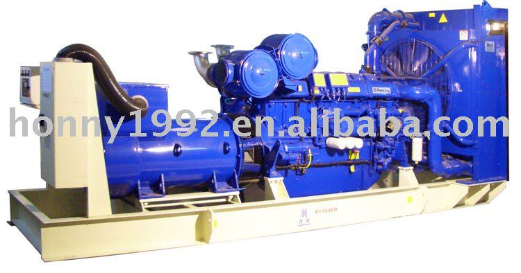 UK Auto Control Power Diesel Generator sets 880KW 1100KVA