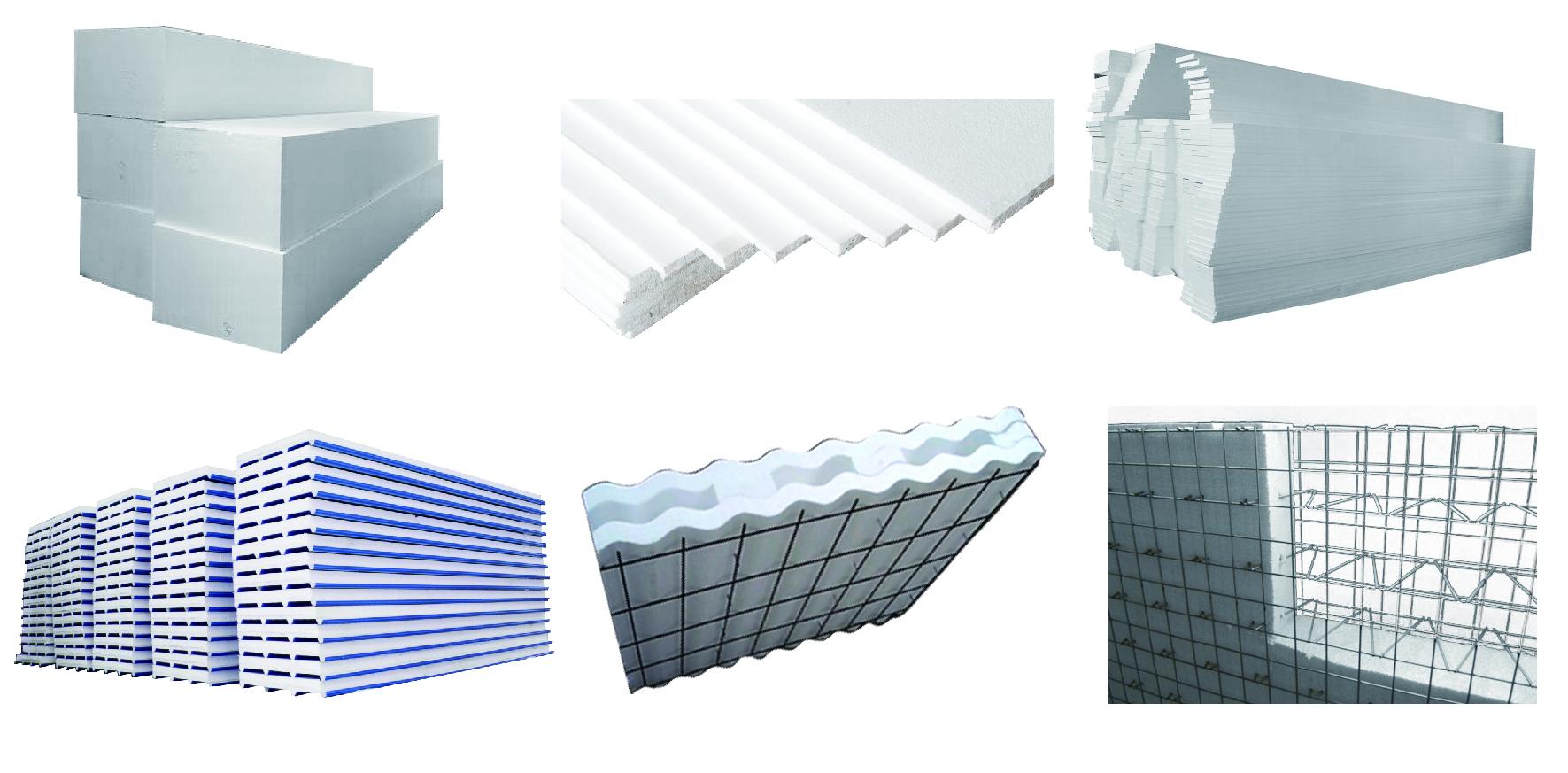 Fangyuan polystyreen schuim machine eps beton sandwich wall panel machine