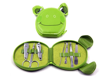 cartoon Stainless Steel Mini Baby Nail Care Manicure Pedicure Set