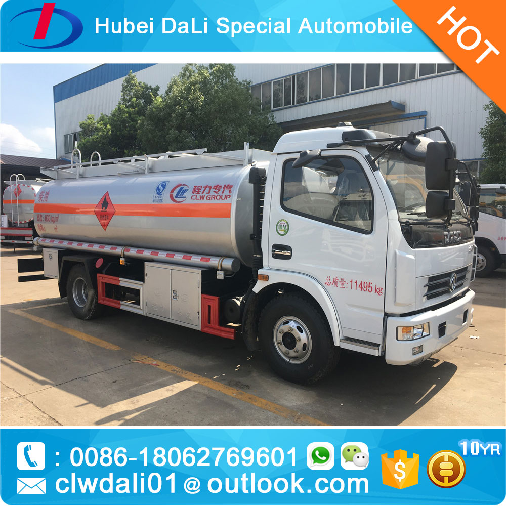 8Tons truck tankers with pump, diesel bowser for sales