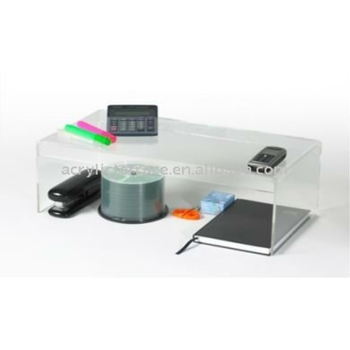 Clear Acrylic Office Products Desk Tidy